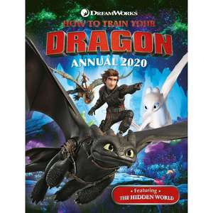 How to Train Your Dragon Annual 2020 £1.99 delivered @ Smyths Toys