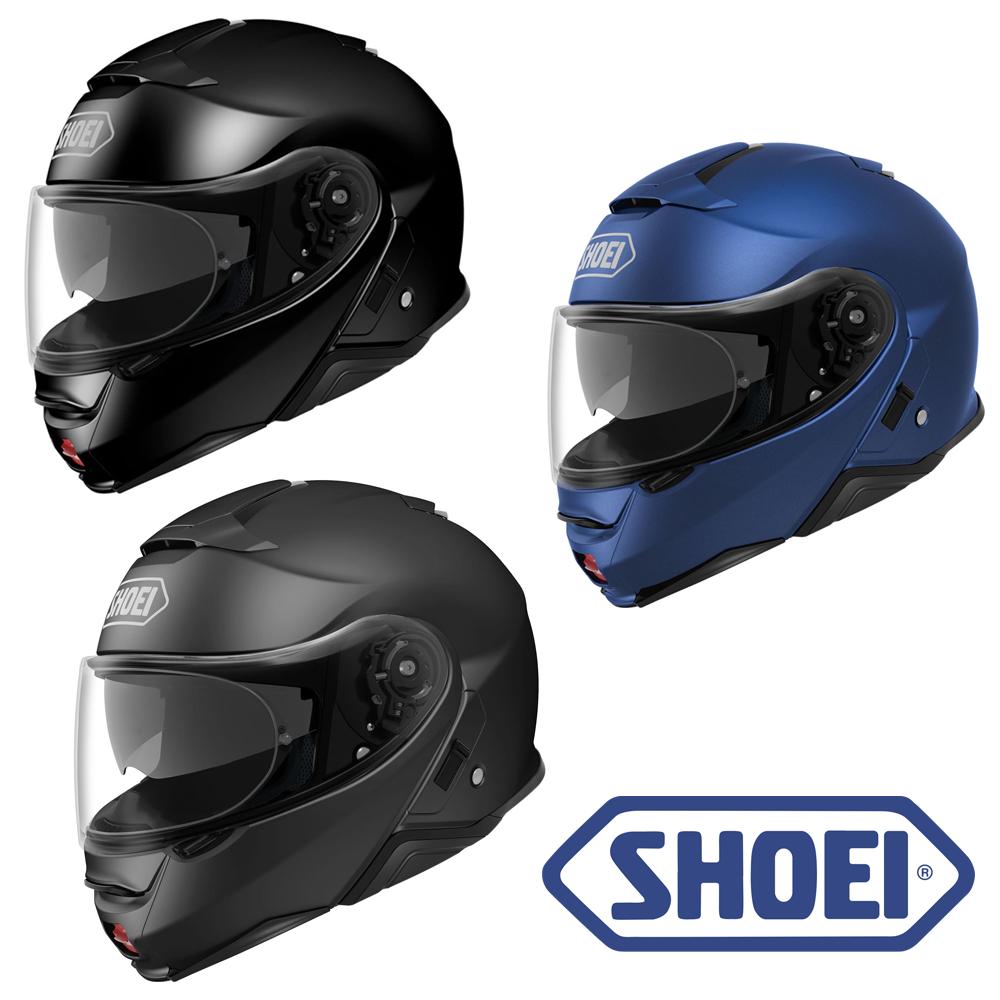 Shoei Neotec 2 Plain Flip Front Motorcycle Helmet With 5 Year Warranty £379.99 Using Code @ GhostBikes