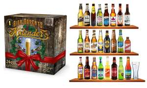 24 Beers 33cl Bottle Advent Calendar £29.99 delivered @ Groupon + potential 20% cashback with Quidco