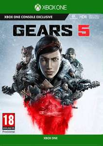 Gears 5 (Xbox One / PC) for £15.99 / Ultimate Edition Xbox One for £23.99 @ CDKeys