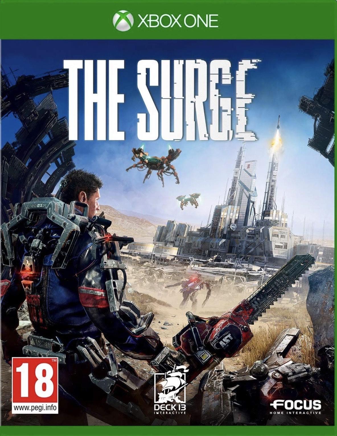 The surge (Xbox one) £3.93 @ Microsoft store