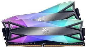 Adata XPG Spectrix D60G RGB LED 16GB (2x 8GB) 3600MHz DDR4 RAM £90.50 @ Box
