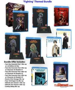 [Blu-Ray/DVD] Fighting Themed Bundle - £9.99 @ All The Anime