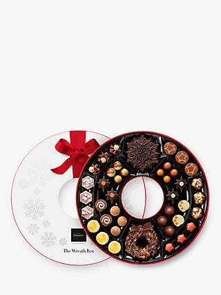 15% Hotel Chocolat Chocolates and Drinks - The Wreath Box, 600g £34 @ John Lewis & Partners