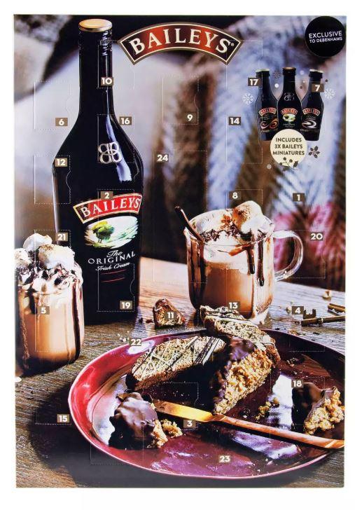 Baileys - Miniature Size Liqueur and Truffle Advent Calendar £9 at Debenhams