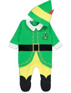 Buddy the Elf Christmas All in One with Hat £5.60 @ Asda George (Applies at checkout)