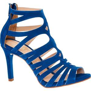 UNISA Blue Suede Cutaway Sandals - £34.99 + £1.99 click and collect @ Tk Maxx