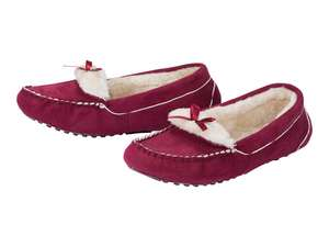 Lidl - Adults Moccasin Slippers - Men £6.99 / Women £5.99