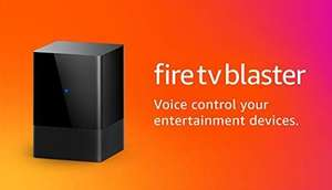 All-new Fire TV Blaster | Add Alexa voice control to entertainment devices (requires compatible Fire TV and Echo devices) £34.99 at Amazon