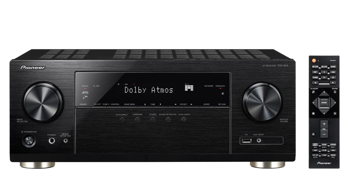 Pioneer VSX933 7.2 AV Receiver - £329 @ Richer Sounds