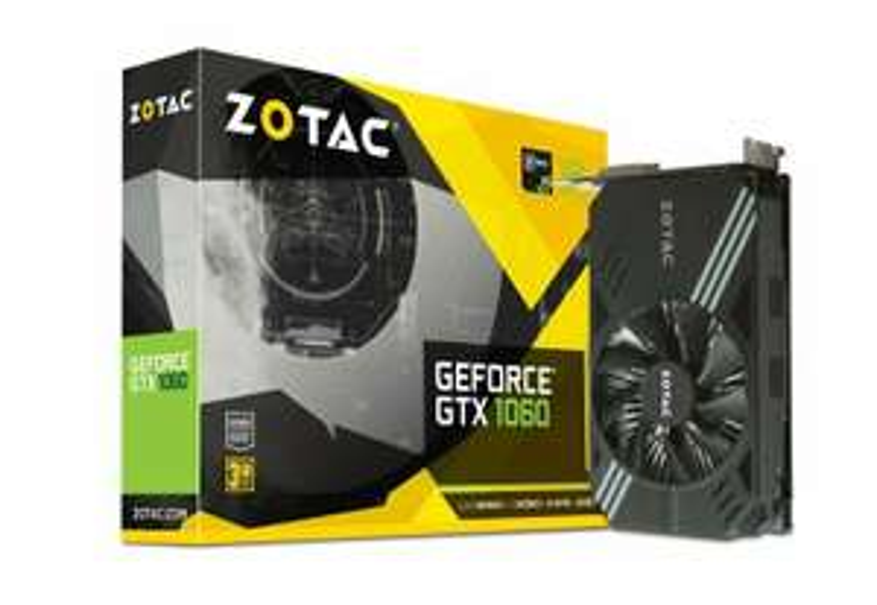 Zotac Geforce GTX 1060 Mini 3GB GDDR5 Graphics Card at Ebuyer/Ebay for £122.85 using code