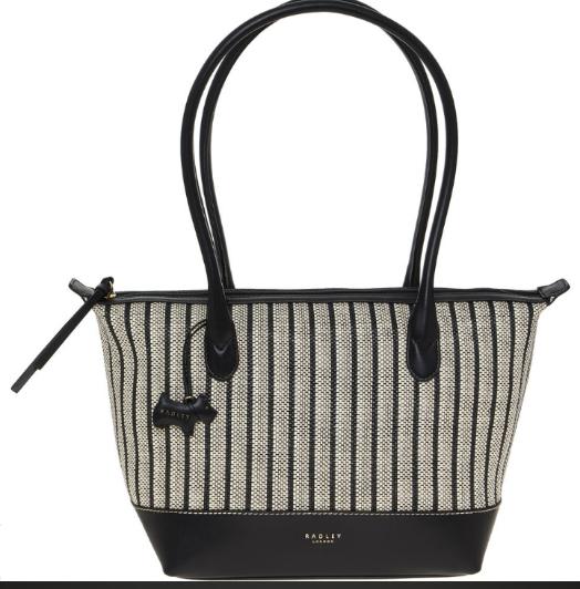 Radley Monochrome Carpenters Yard Medium Shoulder Bag £39.99 + £1.99 click and collect @ Tk Maxx