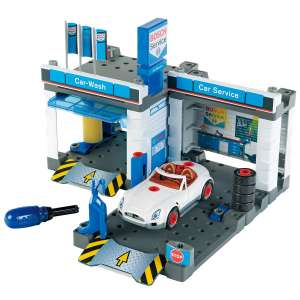 Theo Klein 8647 Bosch Service Car Repair Station with Carwash, Toy, Multi-Colored - £15 instore @ Tesco Cardiff