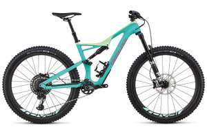 """MTB Specialized Stumpjumper Expert Carbon 27.5"""" (Carbon/Eagle GX) - 2018 (L) at Evans Cycles for £2500"""
