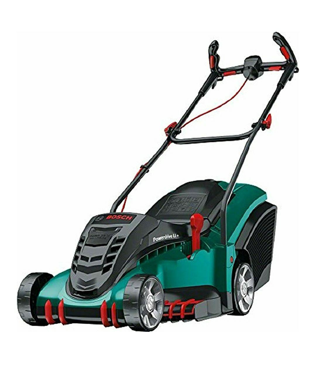 Bosch 06008A4575 Cordless Lawnmower Rotak 430 LI (2 Batteries) - £299.99 @ Amazon