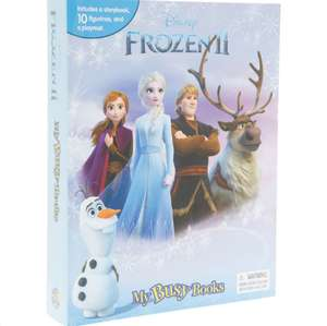 Frozen II Storybook Set my busy books with 10 figurines and playmat £5.99 + £1.99 click and collect @ TK Maxx