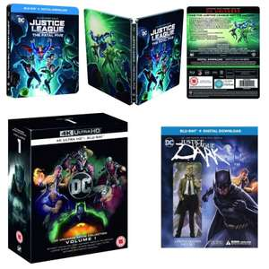 20% Off DC Using Code - EG: Justice League: Fatal Five Steelbook Blu-Ray £7.99 / DC Animated 4K Collection: Vol 1 £39.99 @ Warner Bros