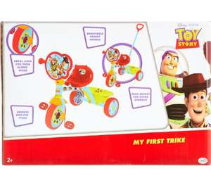 Disney Toy Story Multicolour Large My first Trike £19.99 + £1.99 click and collect @ TK Maxx