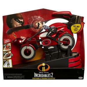 Incredibles 2 Mrs Incredible & Elasticycle Toy £7.68 @ Amazon - Stortford Toys (Free P&P)