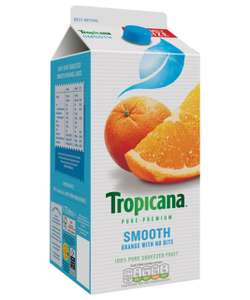 Tropicana 1.6L Family Size £1.89 original (with bits) or smooth @ Spar