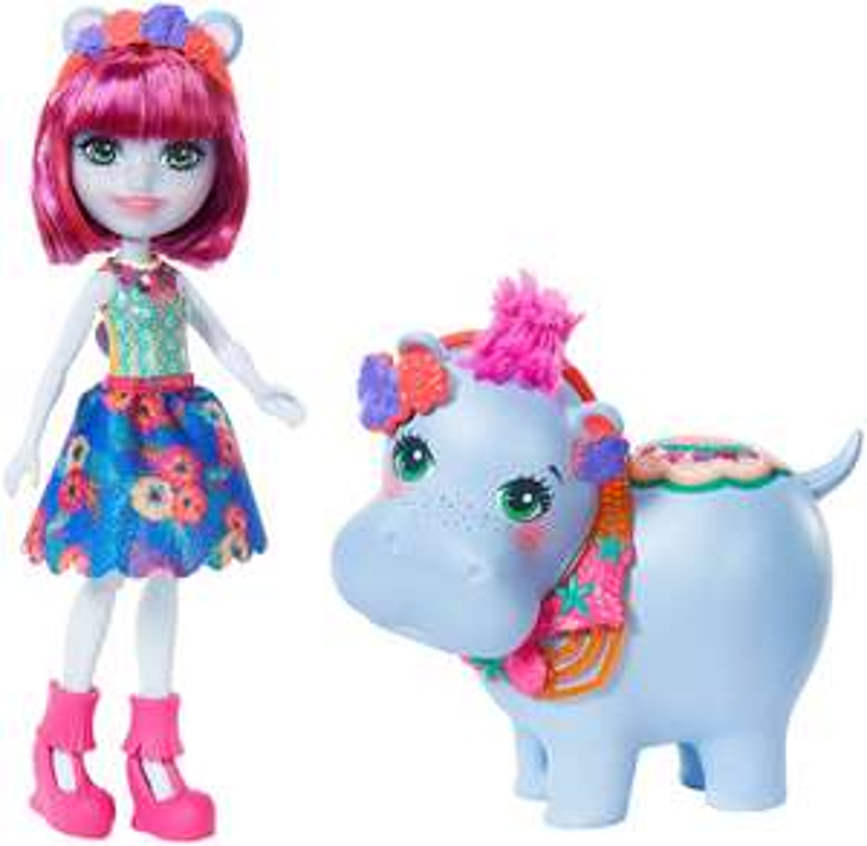 Enchantimals GFN56 Hedda Hippo Doll £7.64 @ Amazon (+£4.49 Non-prime)