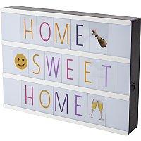 Cinema light box with coloured emojis £5 @ Asda / George