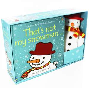 That's Not My Snowman Board Book and Toy by Fiona Watt £5.50 @ Books2Door (£2.49 P&P)