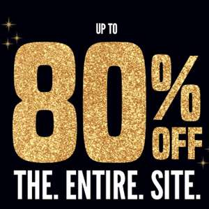 Up to 80% off Everything + £1 Standard delivery using code @ boohoo
