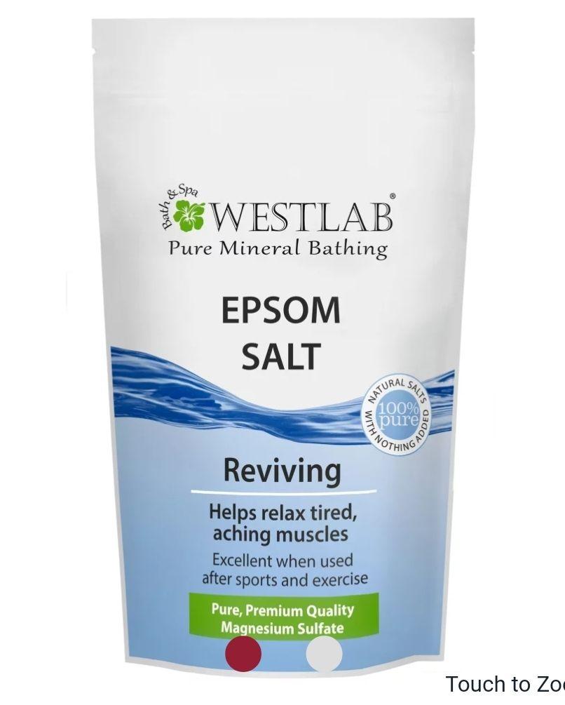 Westlab bath salt 2 x 1Kg £4.50 @ Home Bargain