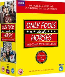 Only Fools & Horses - The Complete Collection DVD Box set bargain only £12.96 @ Amazon (+£2.99 Non-prime)