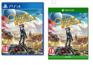 The Outer Worlds Xbox One/PS4 for £29.99 @ SmythsToys