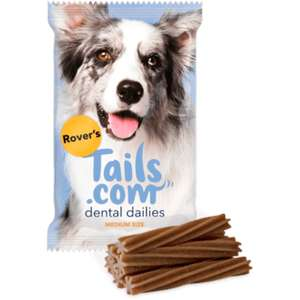 Free Trial - 2 weeks supply of dog food & dental chews (£2 Delivery) @ Tails.com