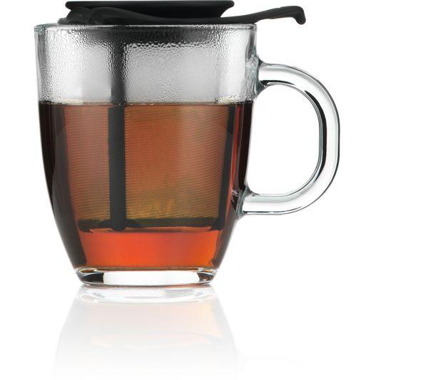 BODUM Yo Yo Mug & Tea Strainer Set - Black £3.70 @ Currys PC World