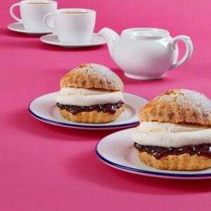 Tea & Cream Scones for 2 people £3.49 @ Debenhams Cafe via Wowcher