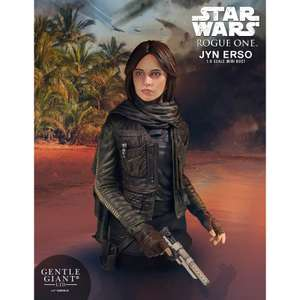 Star Wars Rogue One Jyn Erso Gentle Giant Statue £19.49 Delivered @ Zavvi