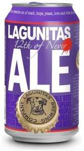 Lagunitas 12th of Never back Ale 79p per can @ Home bargains (Gosport)