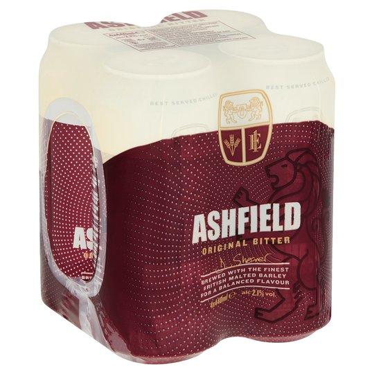 Ashfield bitter 4x440ml for £1 at Tesco