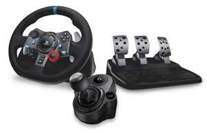 Logitech G G29 Driving Force Racing Wheel + Gear Shifter Bundle for PS4 + Free Copy of Grid PS4 £179.99 @ Box