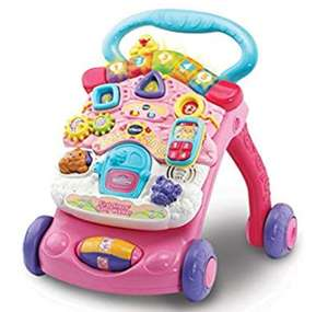 Vtech 80-505683 First Steps Baby Walker, Pink- £16.66 @ Amazon (+£4.49 Non-prime)