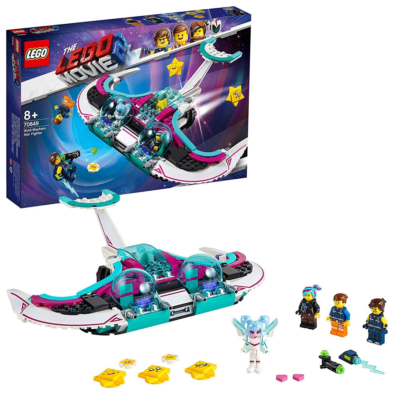 LEGO The Movie 2 WYLD-Mayhem Star Fighter 70849 Building Kit, New 2019 (404 Pieces) £19.54 + £4.49 NP @ Amazon
