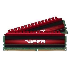 Patriot Viper 4 16 GB (2 x 8 GB) DDR4-3200 Memory £50.81 @ Amazon
