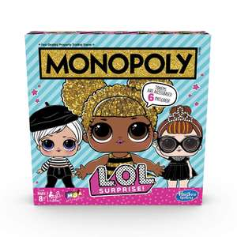 Monopoly Game: LOL Surprise Edition Board Game £6.30 @ Amazon( +£4.49 non prime)