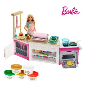 Barbie Careers Ultimate Kitchen Playset £15 + £4.49 delivery non prime @ Amazon