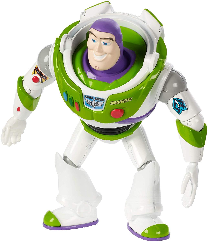 "Disney Pixar Toy Story 4 Buzz Lightyear Figure, 7"" Tall, Posable Character Figure Add On Item £2.91 @ Amazon"