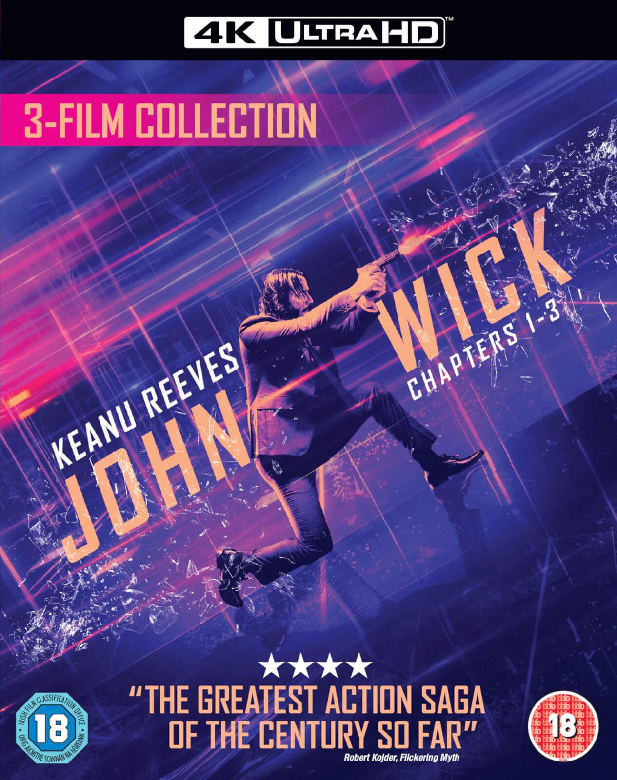 John Wick Triple Boxset - 4K Ultra HD £43.98 delivered @ Zavvi