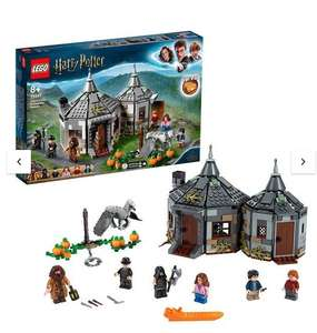 Lego Harry Potter Hagrid's Hut Hippogriff Rescue Set £36.99 @ Very (collection point)