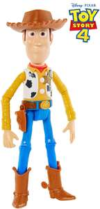 """Disney Pixar Toy Story 4 Woody Figure, 9.2"""" Tall, Posable Character Figure £3 Add On Item @ Amazon"""