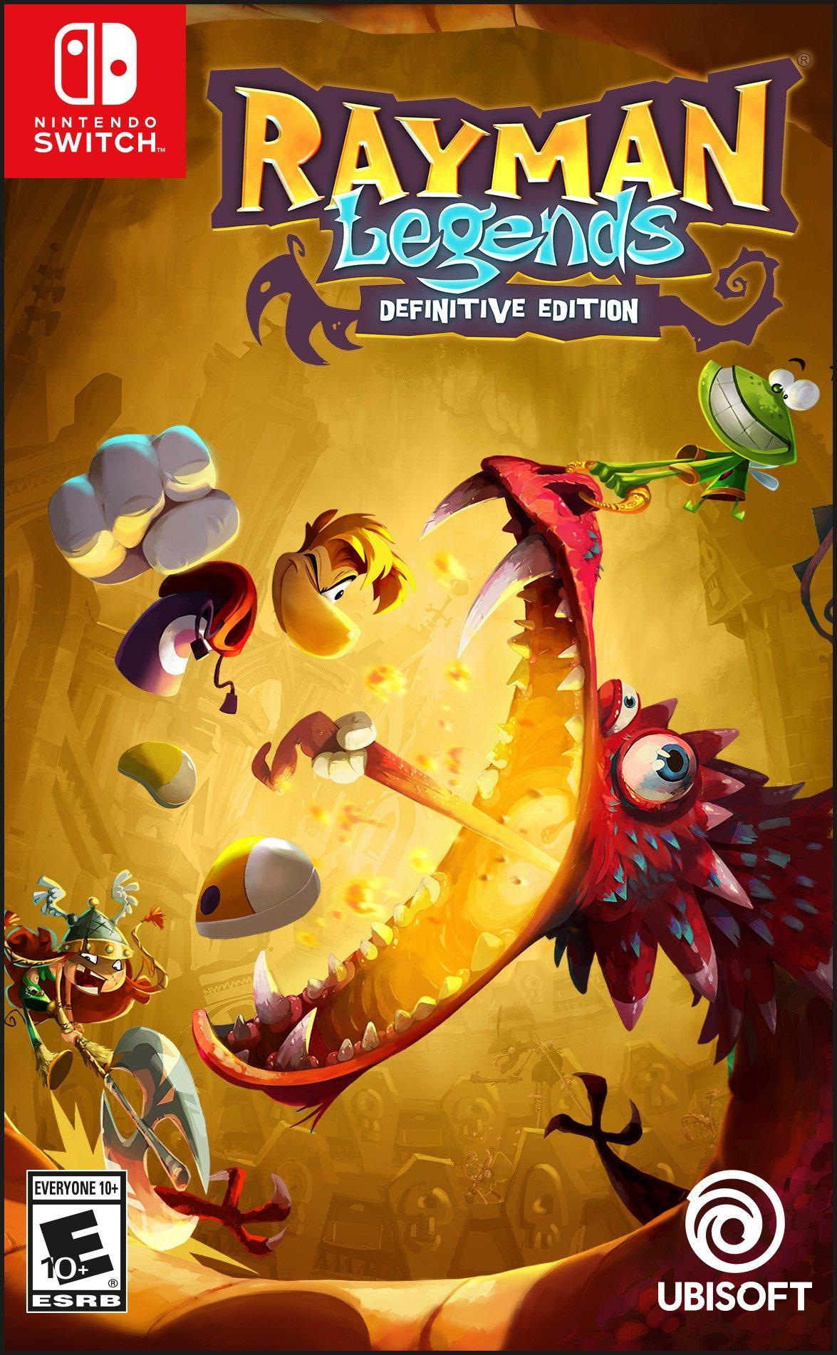 Rayman Legends - Definitive Edition (Nintendo Switch) - £14.85 delivered @ Base