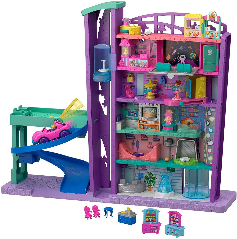 Polly Pocket GFP89 Mega Mall with 6 Floors, Vehicle, Elevator & Micro Dolls, Multicolour £12 (Prime) £16.49 (Non-Prime) @ Amazon