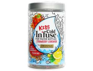 Kids cold infuse for water bottles strawberry and lemonade flavour £1 in Asda cap hill Birmingham